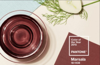 Color Of the Year #Marsala