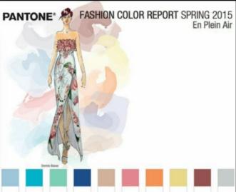 Pantone Complimentary Colors Fashion Report photocredit: pantone.com